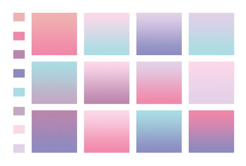 gradients.