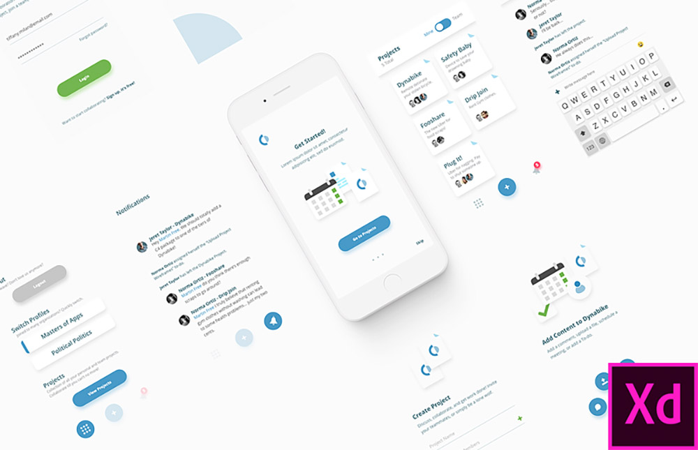 dribbble-xd-template.