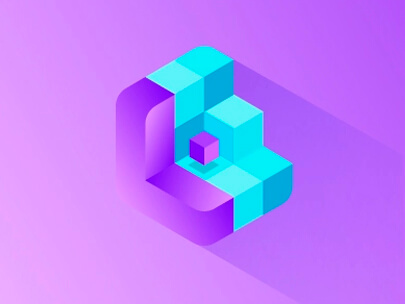 logo-design-trends-2020-3D-and-isometric-logos-example-3.