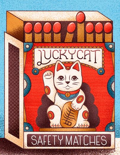 retro-designs-Lucky-Cat.
