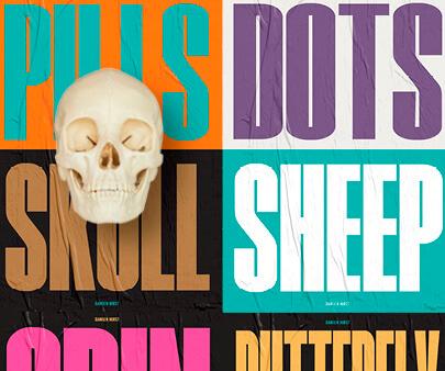 Damien-Hirst-creative-typography-design-example.