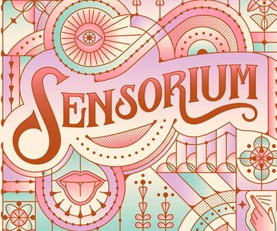 Sensorium-creative-typography-design-example.