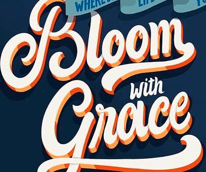 bloom-creative-3D-typography-design-example.