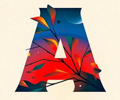 Days-of-Type-creative-typography-design-example.