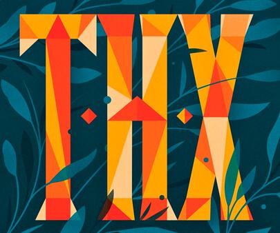 Happy-Thxgiving-creative-typography-design-example.