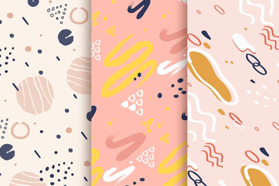 free-background-design-with-pattern-collection.