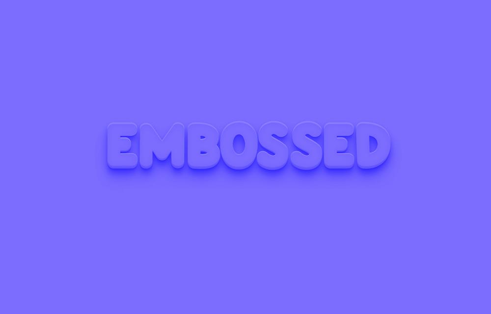 EmbossedTextEffect.