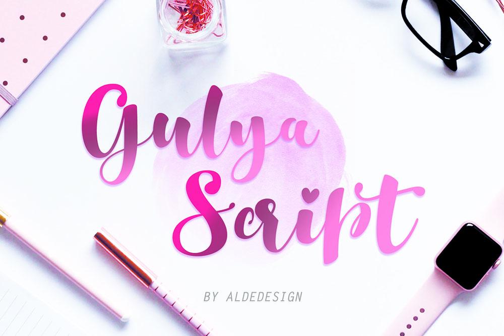 Gulya-Script-by-aldedesign.