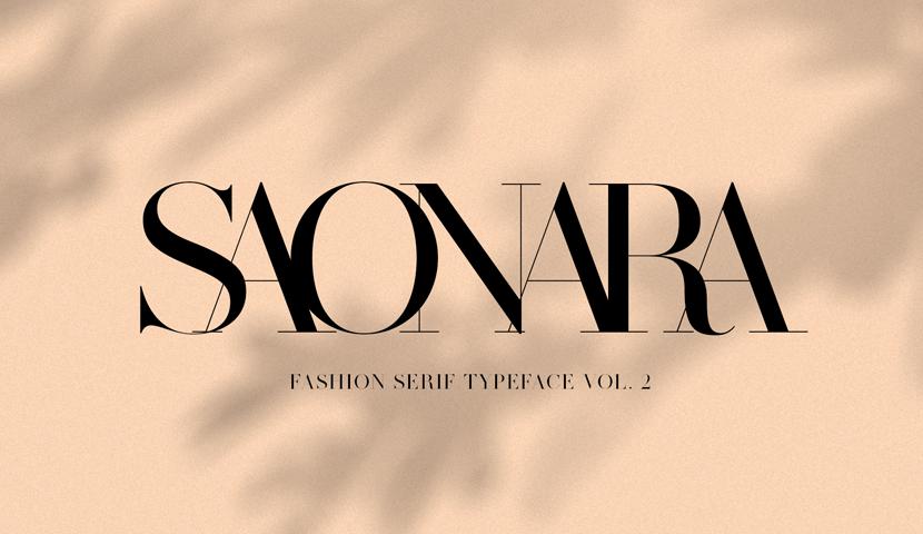 SAONARA-modern-serif-typeface.