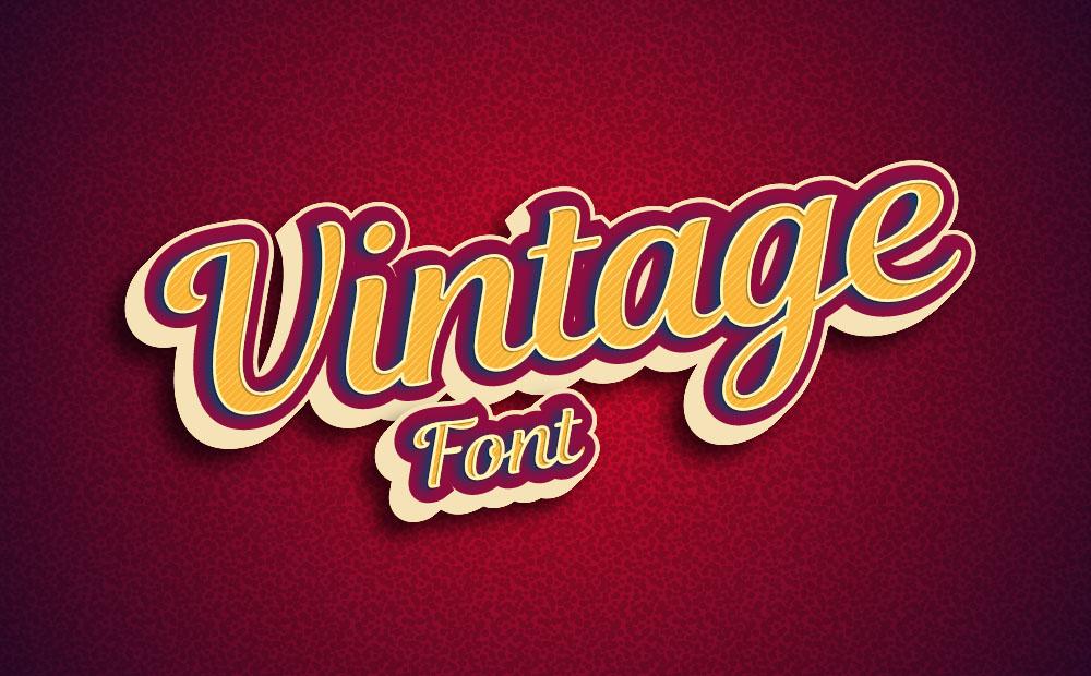 60 Phông chữ Vintage và Retro miễn phí cho thiết kế cổ điển | Cộng đồng Designer Việt Nam - Creative Designer