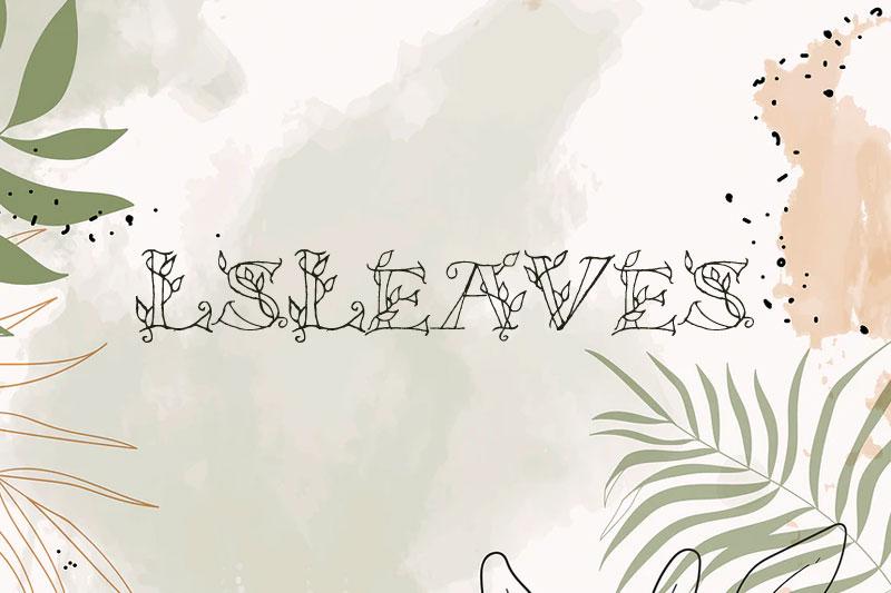 lsleaves-leaf-font.