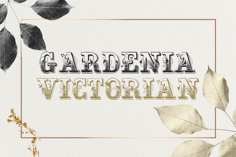 gardeniavictorian-leaf-font.