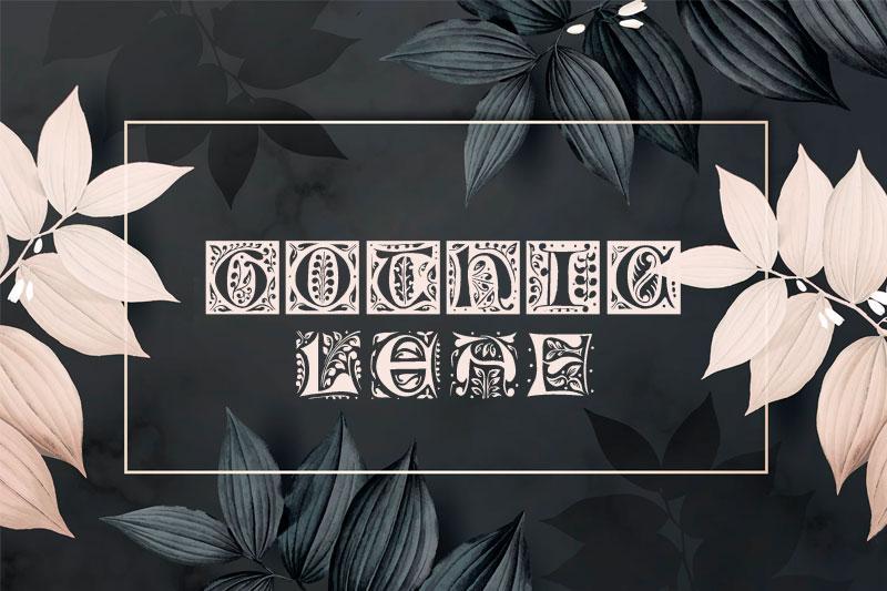 gothic-leaf-leaf-font.