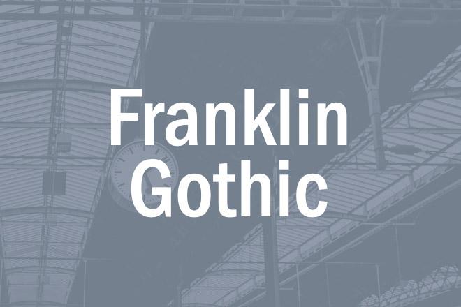 franklin-gothic.