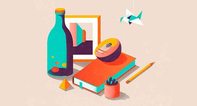 3.-Use-geometry-in-flat-illustration.