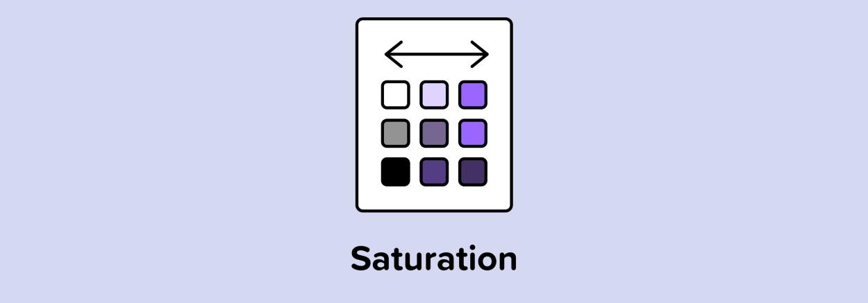 saturation.