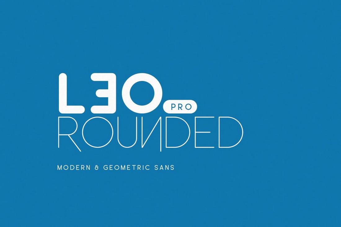 Leo-Rounded-Geometric-Sans-Font.