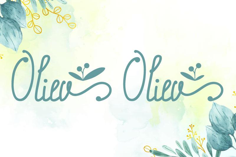 oliev-oliev-flower-font.