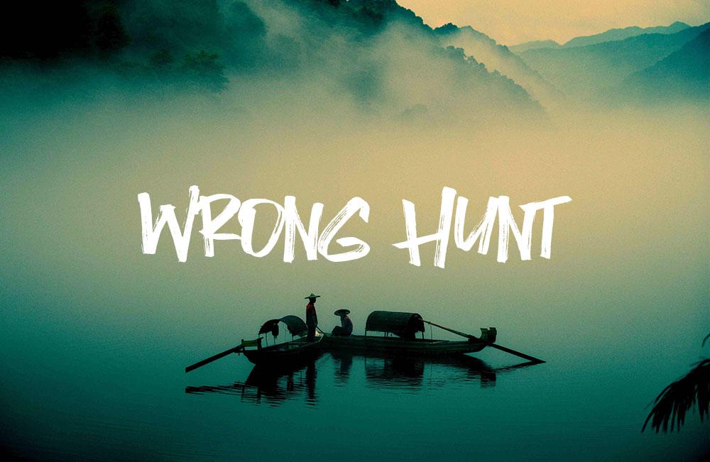 wrong-hunt.