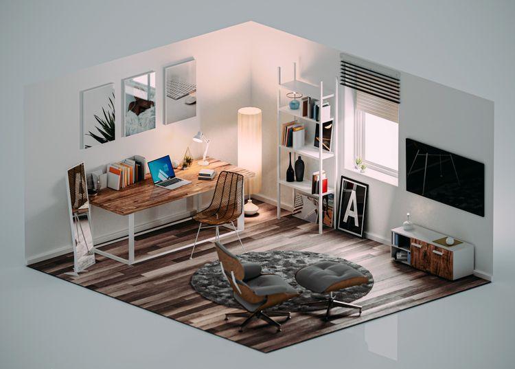 3D-Perspective-Design-Study-Room.